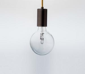Purity LED Pendant – Bronze