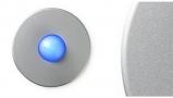 Satin Round Doorbell Button