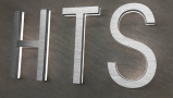 Modern Lighted Address Letters 8″