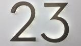 Modern Neutra 8″ Bronze Backlit Numbers