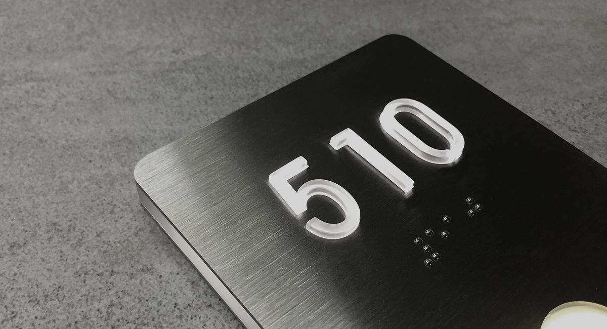 Modern Number Signs