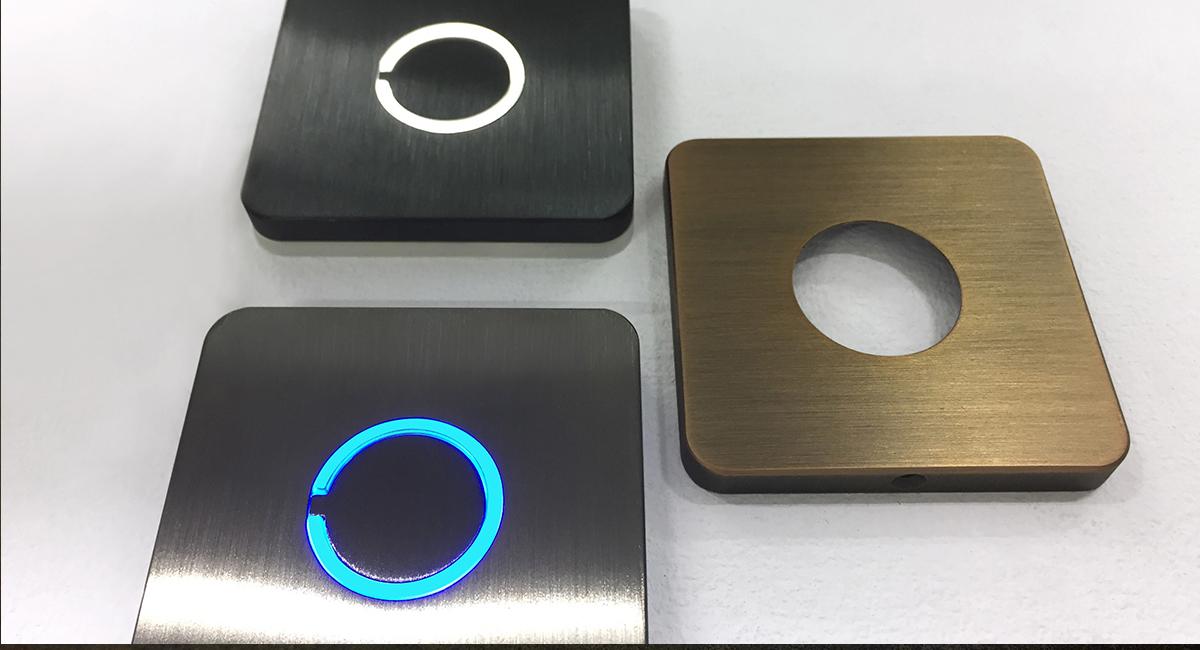 Modern Doorbells and Buttons