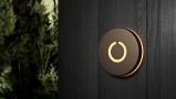 Round Touch Doorbell Bronze