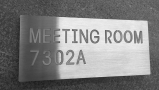 LED Directional Room Signage